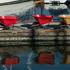 Dockside wheelbarrows