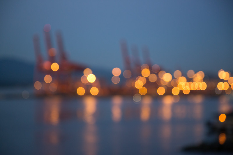 Vancouver Container Port