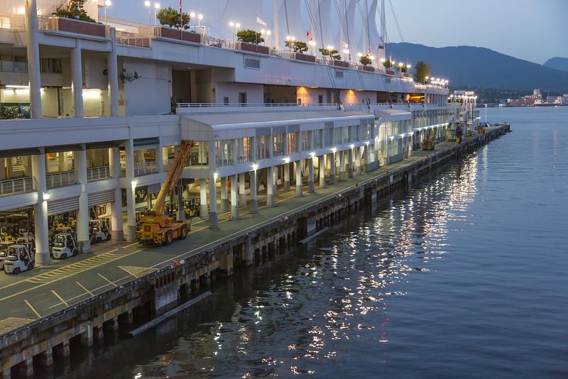 Vancouver Cruise Ship Dock