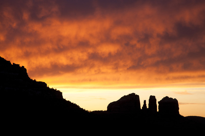 Sunset, Sedona, AZ