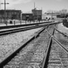 Railroad tracks, Santa Fe, NM