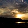 Ranthambhore fort at sunset