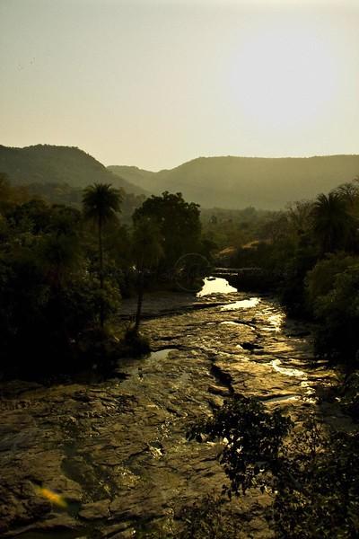 Damdama valley in Kundal biodiversity region of Ranthambhore tiger reserve