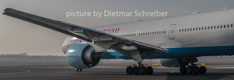 2019-01-21 OE-LPA Boeing 777-200 Austrian Airlines