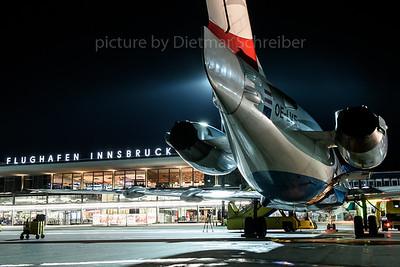 2017-11-02 OE-LVE Fokker 100 Austrian Airlines