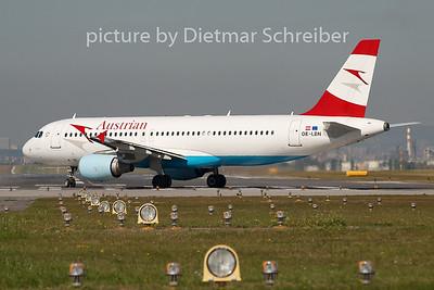 2008-09-09 OE-LBN Airbus A320 Austrian Airlines