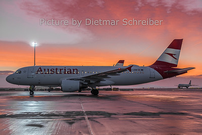 2018-12-19 OE-LBM Airbus A320 Austrian Airlines