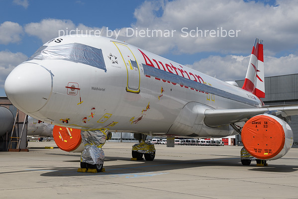 2021-04-23 OE-LBS Airbus A320 Austrian Airlines