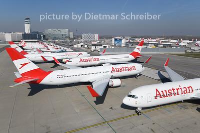 2020-03-19 Boeing 767-300 Austrian AIrlines