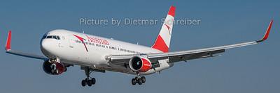 2019-04-22 OE-LAZ Boeing 767-300 Austrian Airlines