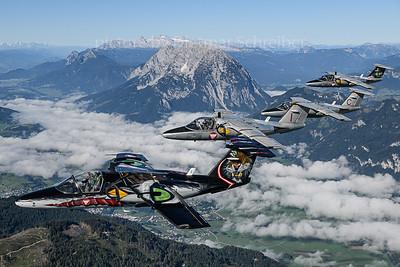 2019-09-04 Saab 105 Austrian Air Force