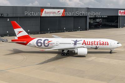 2018-05-09 OE-LPF Boeing 777-200 Austrian Airlines