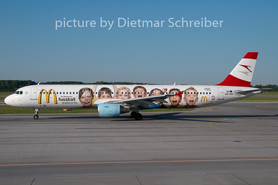 2008-05-12 OE-LBC Airbus A321 Austrian Airlines