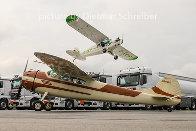 2020-06-20 N1569D Cessna 195 / D-EKIP Piper 18
