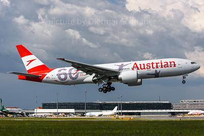2018-05-08 OE-LPF Boeing 777-200 Austrian Airlines