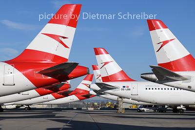2020-03-16 OE-LBB Airbus A321 Austrian Airlines