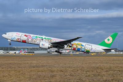 2019-01-14 B-18703 Boeing 777-300 Eva Air