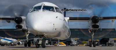 2020-11-17 OE-LGQ Dash 8-400 Austrian Airlines