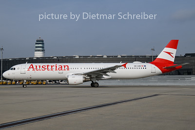 2018-11-08 OE-LBD Airbus A321 Austrian Airlines