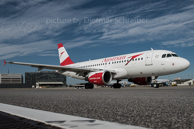 2016-02-22 OE-LDC Airbus A319 Austrian Airlines