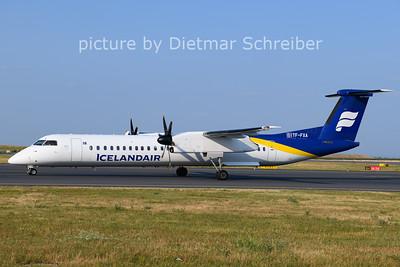 2021-07-20 TF-FXA Dash 8-400 Icelandair
