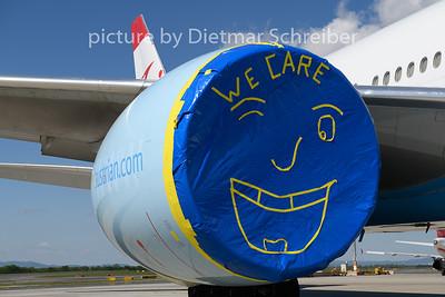 2020-04-26 OE-LPB Boeing 777-200 Austrian Airlines