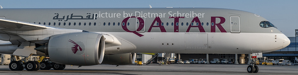 2018-08-31 A7-ALG Airbus A350-900 Qatar Airways