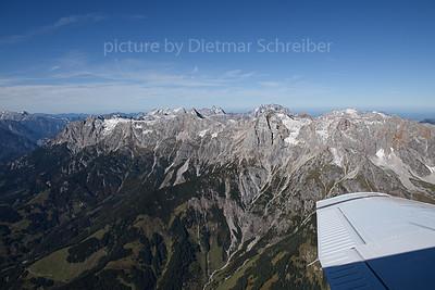 2019-10-12 OE-KAZ Piper 32 Alpenflug