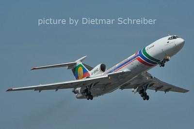 2011-06-22 RA-85840 Tupolev 154 Daghestan Airlines