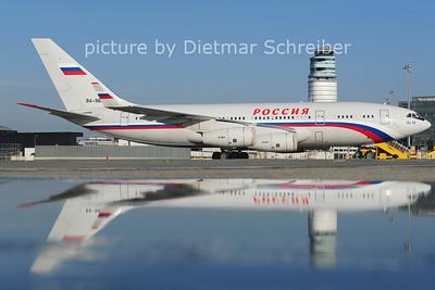 2014-05-06 RA-96019 Ilyushin 96 Russian Government
