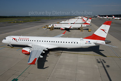2017-08-02 OE-LWN Embraer 195 Austrian Airlines