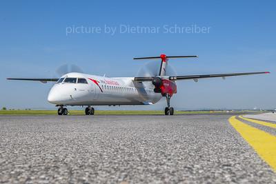 2018-05-31 OE-LGK Dash 8-400 Austrian Airlines
