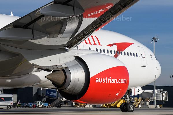 2017-12-10 OE-LPD Boeing 777-200 Austrian Airlines