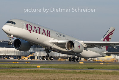 2019-03-30 A7-ALL Airbus A350-900 Qatar Airwaays