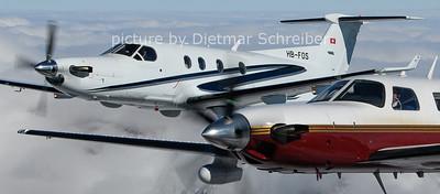 2021-02-27 N120WW Piper 46 Meridian / HB-FOS Pilatus PC12