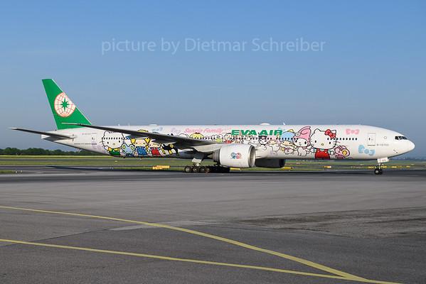 2018-04-28 B-16703 Boeing 777-300 Eva Air