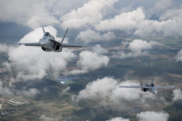 2018-09-07 J-5003 / J-5013 F18 Swiss Air Force