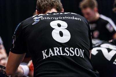 SSL herr match mellan Pixbo Wallenstam IBK vs Linköping IBK den 28/12-2014.