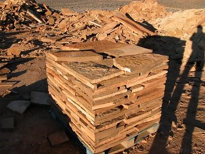 Utah QDS desert bronze stone