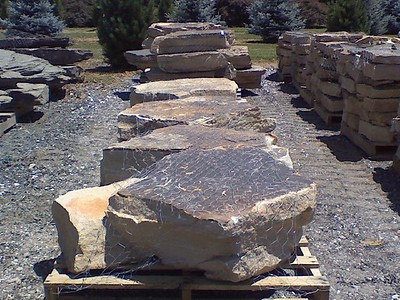 Pennsylvania GO west mountain boulders  *Easily accessible.  Generally carried in stock