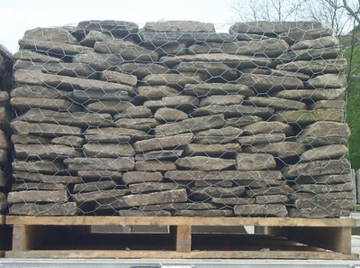 New York JR thin fieldstone  *Easily accessible.  This stone is typically carried in stock.