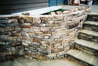 Maryland BRQ cut fieldstone  *Fairly accessible.  This stone is not held in stock but can easily be added to a truck or picked up by TDH
