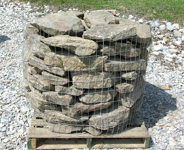 North Carolina BR appaloosa wallstone  *Special order, must be sold by the truckload.  Truckload can be combined with any NC/ BR stone.