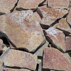 New Mexico travertine St. Geniveve flagstone
