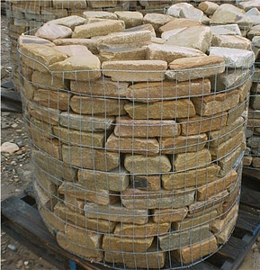 Tennessee SQM tumbled flagstone  *Special order, must be sold by the truckload.  Truckload can be combined with any NC/ SQM stone.