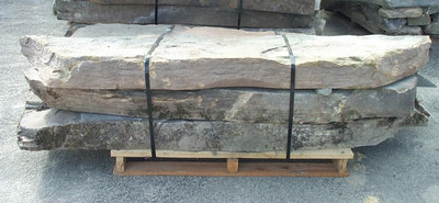 New York JR fieldstone steppers  *Easily accessible.  This stone is typically carried in stock.