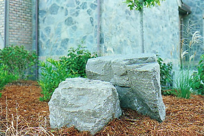 Ohio SC gray gorge boulders  *Special Order.  This stone must be ordered by the truckload.  Can be combined with any stone from OH/ SC