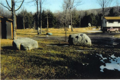 Maryland BRQ weathered boulders