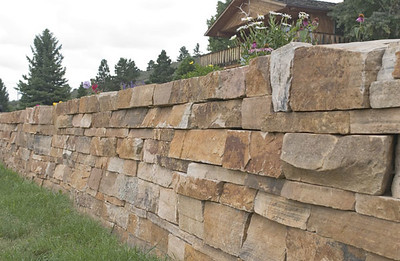 Colorado COF buff drystack stone  *Special Order.  This stone must be ordered by the truckload.  Can be combined with any stone from CO COF stone