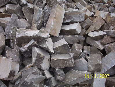 West Virginia HER fieldstone, snapped  *Easily accessible.  This particular HER stone is not typically in stock but can be picked up by TDH or added to a truck.
